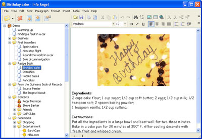 Click to view Info Angel 4.2 screenshot